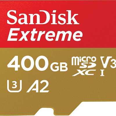 Scheda di memoria MicroSD 400 GB