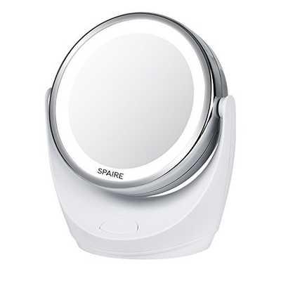 Specchio per trucco con luce LED