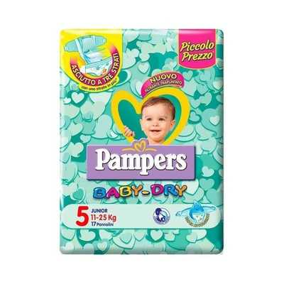 Pampers Baby Dry 5 Junior