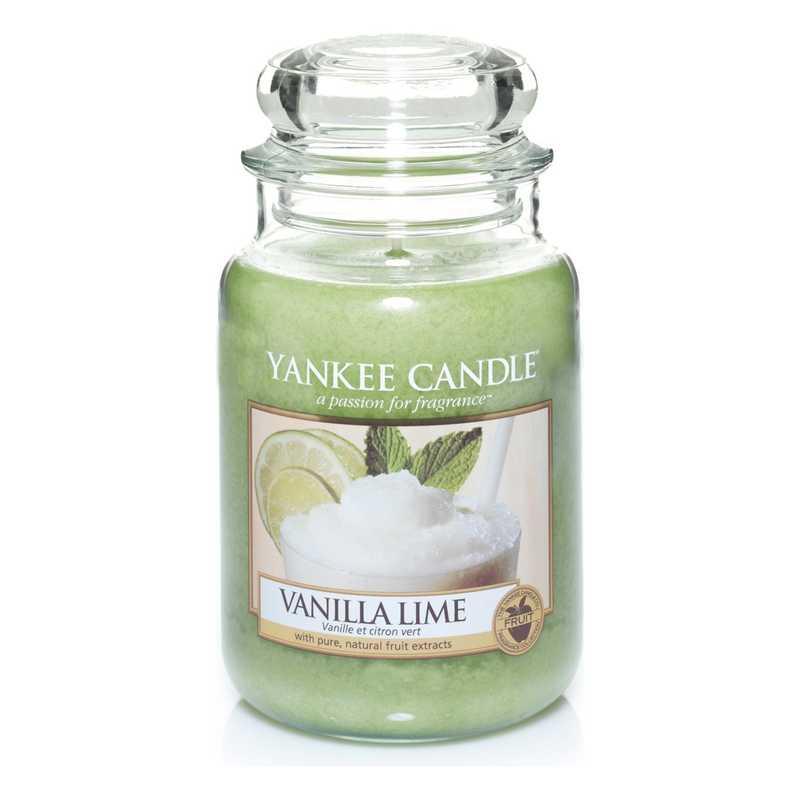 Yankee Candle grande al gusto di Vaniglia e Lime