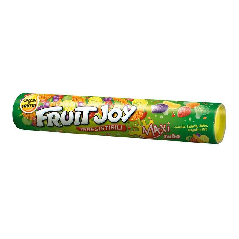 Fruit Joy Caramelle Gommose al Gusto Frutta - 36 Tubi
