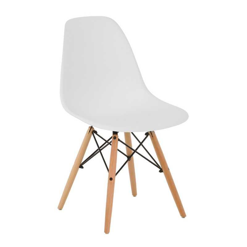 Sedia di design in legno naturale