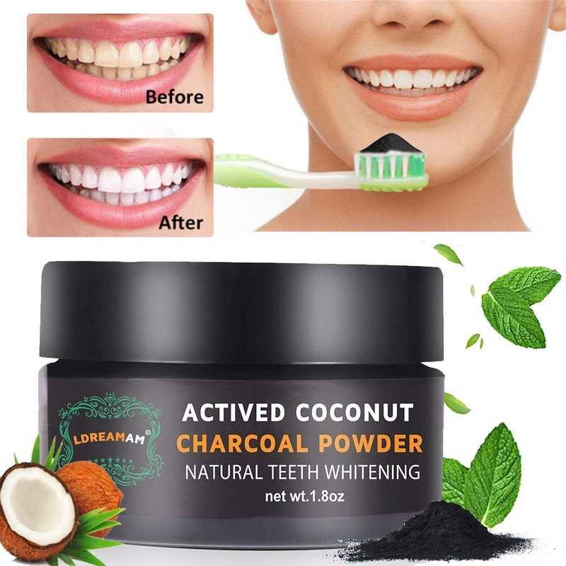 Carbone Attivo naturale per la pulizia dei Denti