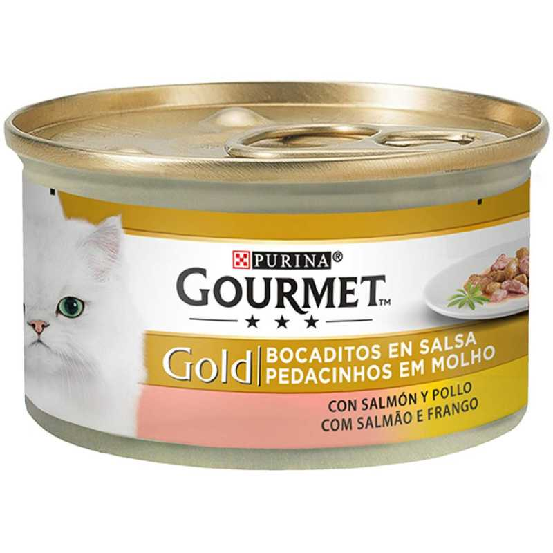 24 lattine da 85g ciascuna PURINA GOURMET GOLD