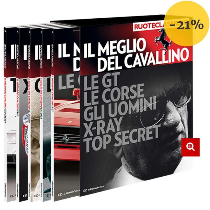 Il Meglio del Cavallino- il mito Ferrari in 5 volumi