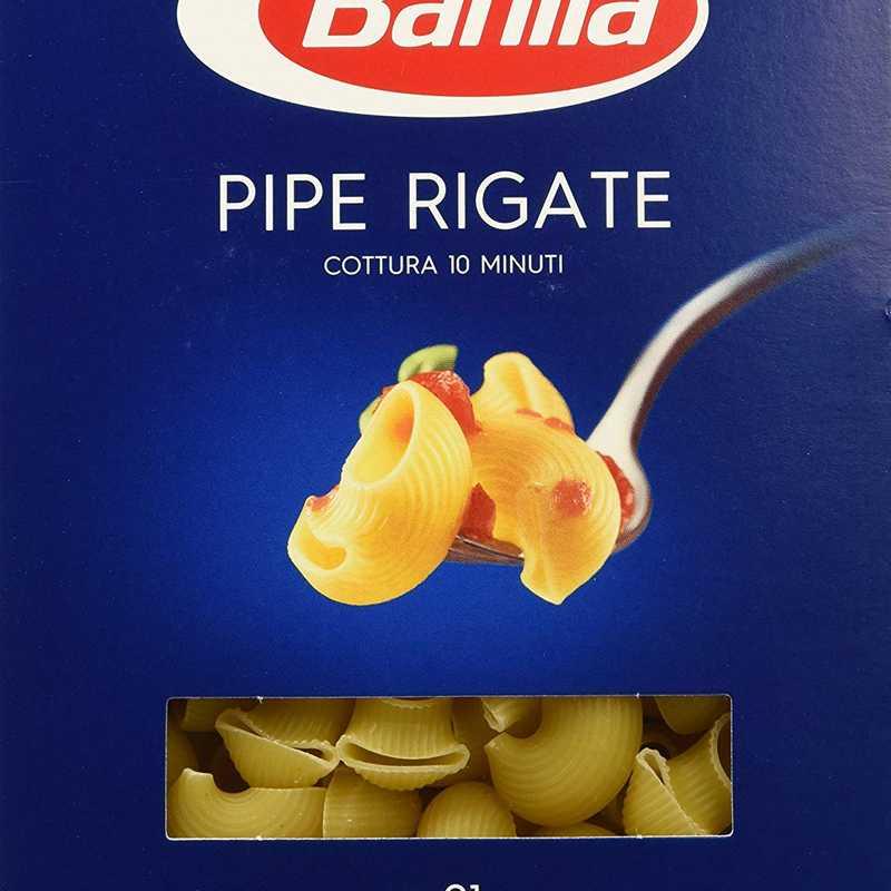 Barilla - 91 Pipe Rigate - 30 confezioni da 500g [15kg]