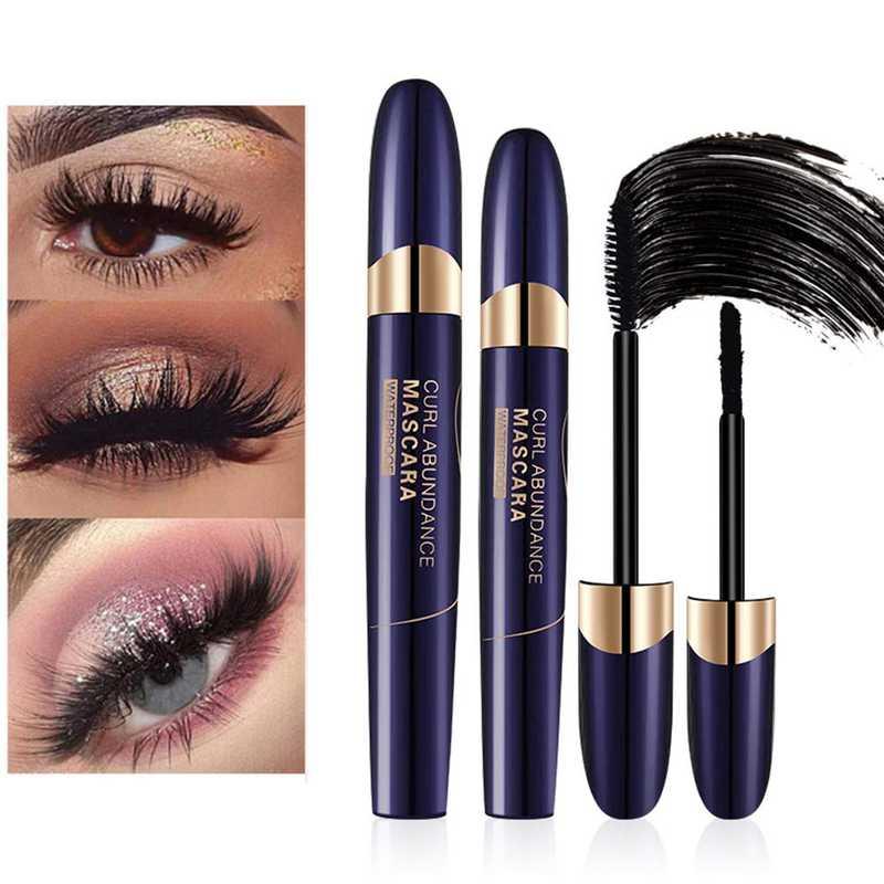 4D Silk Fiber Eyelash Mascara, Fiber Mascara, Mascara Waterproof, Impermeabile